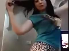 HOT EGYPTIAN GIRL DANCING AT HOME