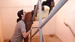 White Guy Ass Worship of Black Woman