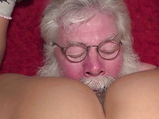 Santa claus at work