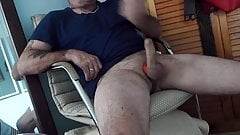 DADDY JUST RELAXING