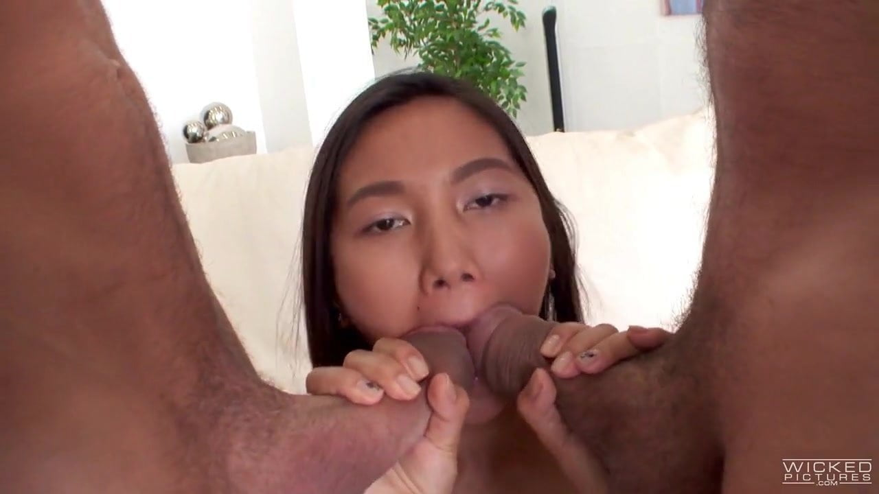 Stunning Asian Double Blowjob Compilation