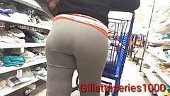 Candid spanish milk nice ass in grey tight slacks