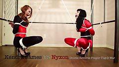 Kendra James VS Nyxon Crotchrope TugOwar's Thumb