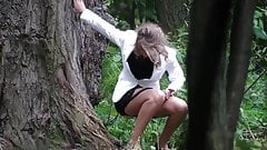 Hidden Cam In Forest Girl Pee Part 7