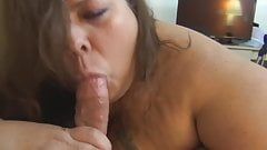 BBW Tania Sue gets Railed