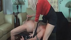 MILF uses defenseless cock for revenge