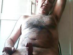 Hot Daddy Masturbates