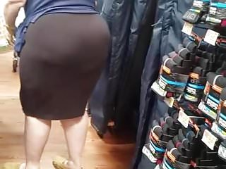 Thick bbw pawg in walmart