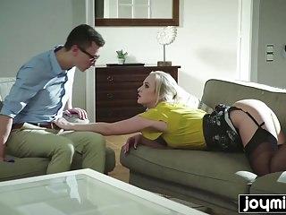 Joymii Blonde Teen Gets Fucked By Her Doctor