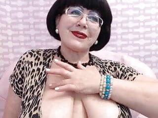 Big breast nurse mature - Mature milf teasing on web cam big breast