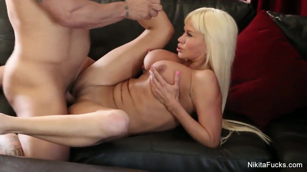 Busty Blonde Beauty Gets Deep Dick