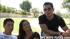 Watch you wife Mia fucking a h