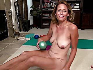 Jade Allan Yoga And Masturbation on AllOver30