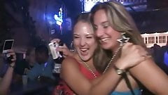 Real party girls in bar
