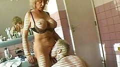 Hot granny sex video