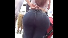 Thick Ass Candid Booty