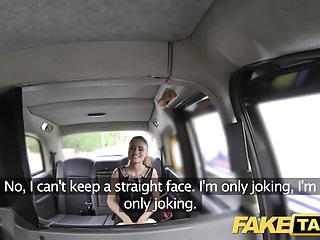 Preview 3 of Fake Taxi Stunning Romanian with perfect tits gets a facial