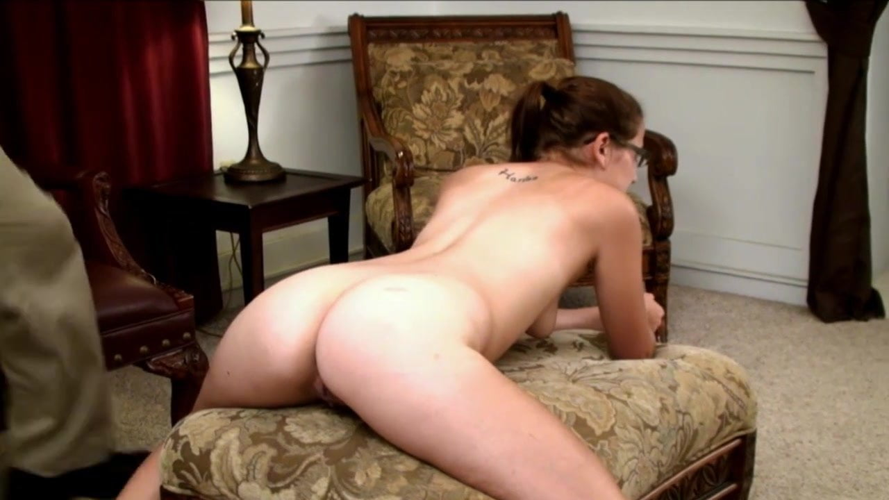 Spanked in the nude