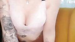 stocking slut ass