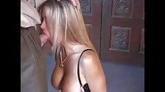 MILF blonde loves sex and cumshot