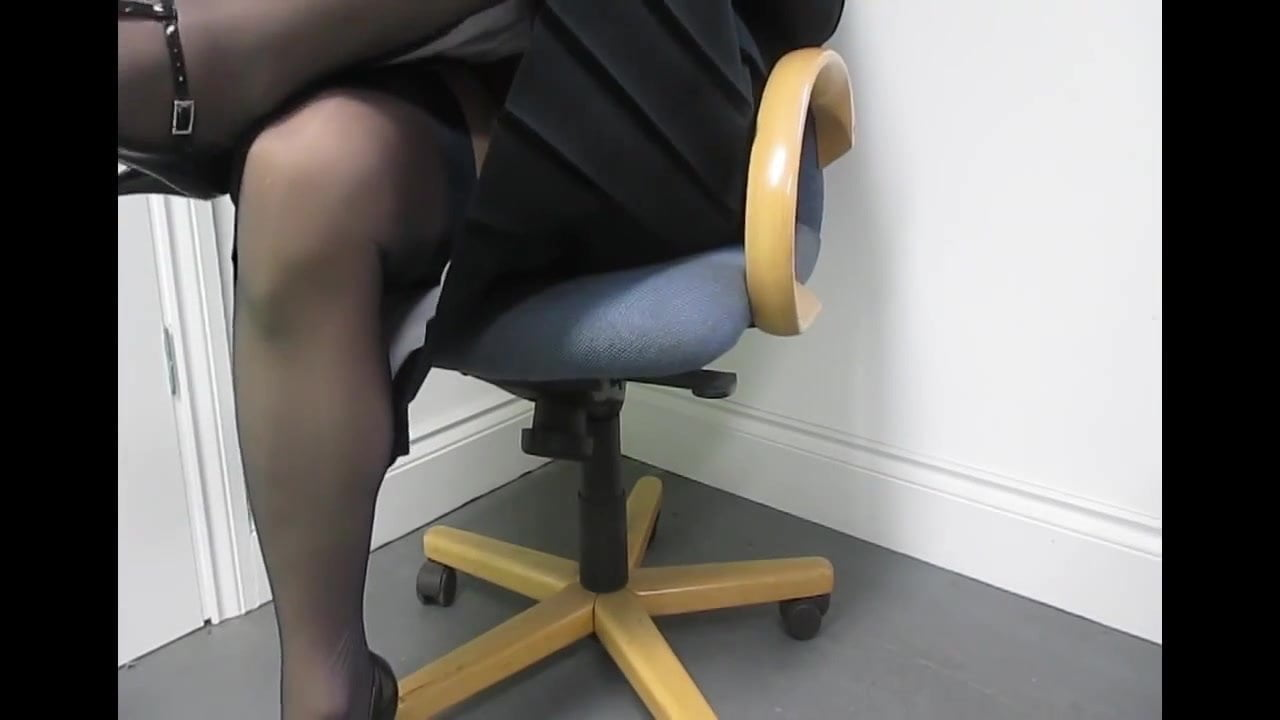 Pantyhose upskirts on live  tv