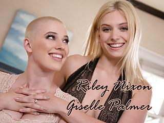 Lesbian proposal - Riley Nixon and Giselle Palmer