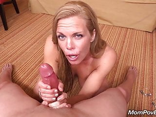 Fit MILF sucks and fucks young cock