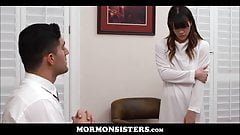Young Mormon Teen Sister Sex With Brother In His Office