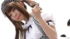 Maid cosplay 006
