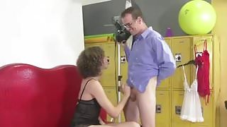 Sexy Crossdresser fucked in Lingerie