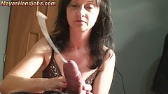 Sexy girl fucked with skirt on