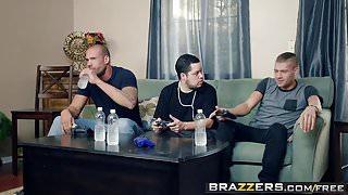 Brazzers - Mommy Got Boobs -  My Friends Fucked My Mom scene