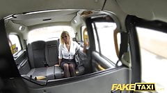 Fake Taxi Hot estate agent gets creampied