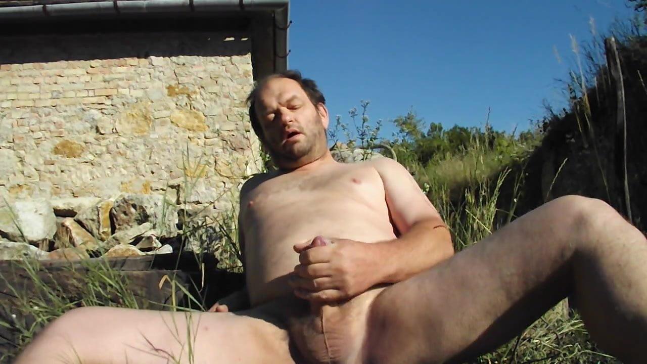 Homemade Outdoor Masturbation With Cum, Free Man Hd Porn Fa-1321