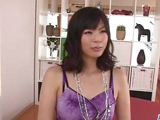Saki Aoyama hot mom needs a good fuck in threesome