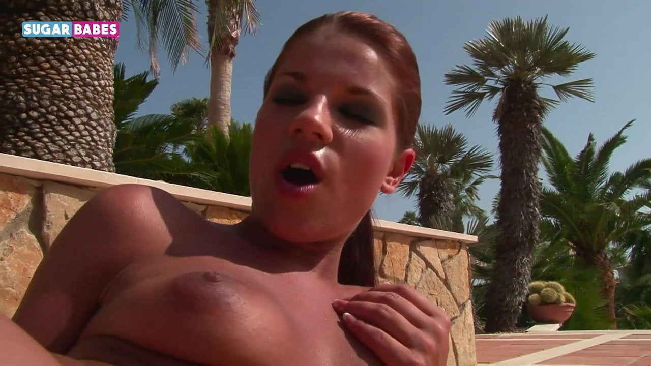 Angel Rivas Outdoor fingering masturbation