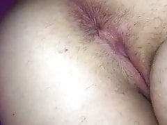 Girlfriend asshol and pussy