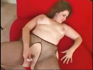 Fat Chubby ex GF masturbating wet pink pussy-1
