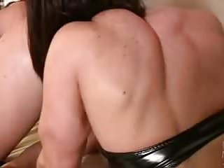 Preview 3 of 3 Muscular Lesbians Eat Pussy