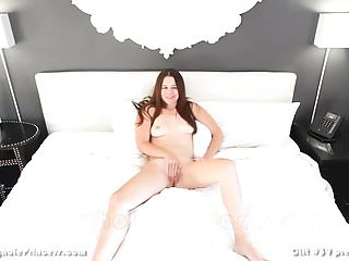 Wife masturbates in front of husband's friend