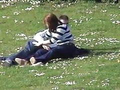 A couple Fucking at park(Handjob)