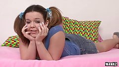 Pigtailed Teen