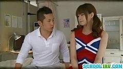 Nice teen Akiho Yoshizawa