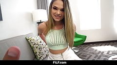 FILF - Athena Faris Impregnated By The Landlord