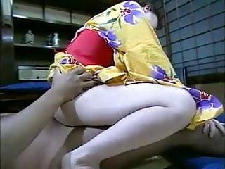 Japanese Video  Kimono Wife