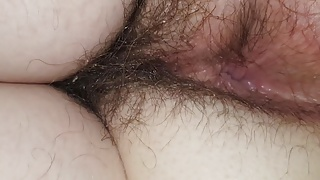 Wifes hairy ass