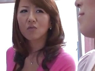 Japanese moms pussy masturbation - Busty japanese moms and their sons