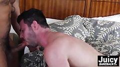 Trey Turner gives Billy Santoros sweet ass a rough pounding
