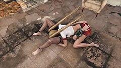 Fallout 4 Katsu and Marie Rose