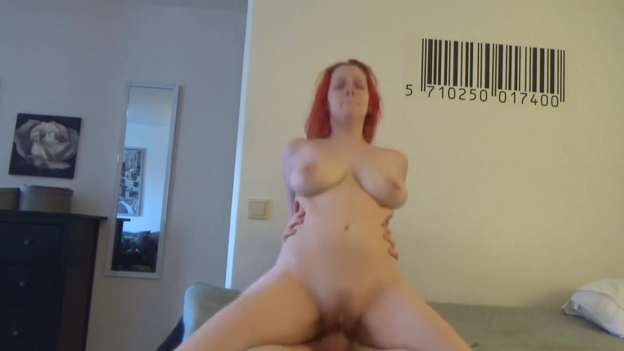 mature amateur redhead quivers with orgasm